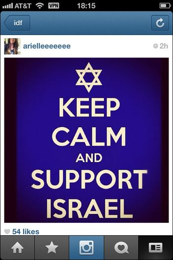 Instagram War Israel 01