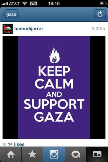 Instagram War Gaza 01