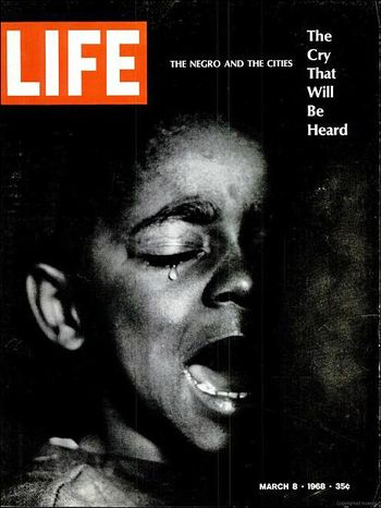 Life Magazine Gordon Parks Ellen Fontenelle March 1968