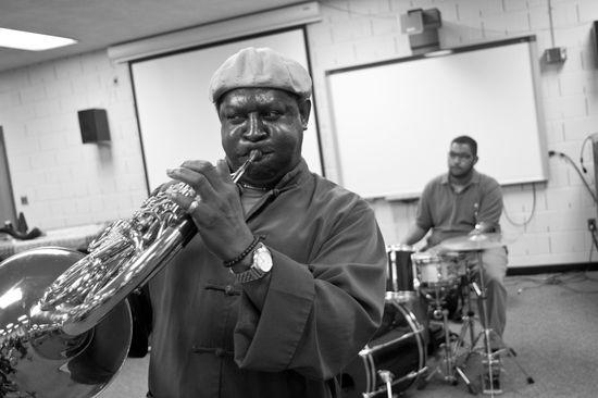 John Edwin Mason Watkins Jazz Fest 12 BW-8400