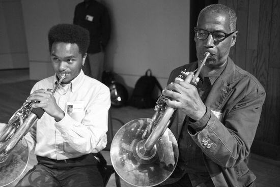 John Edwin Mason Watkins Jazz Fest 12 BW-1000813