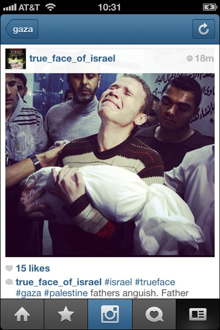 Instagram War Gaza 04