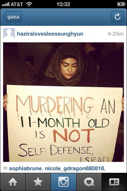 Instagram War Gaza 06