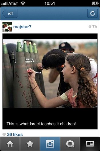 Instagram War Gaza 10