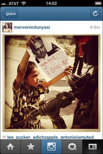 Instagram War Gaza 11