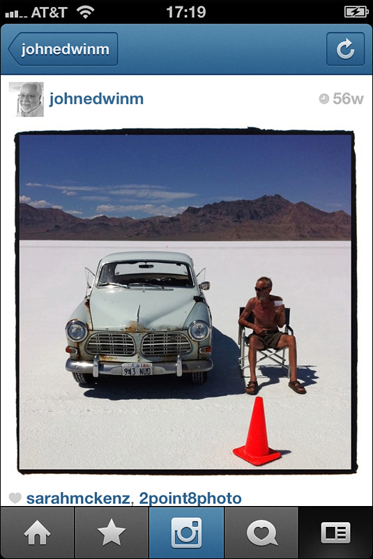 John edwin mason bonneville speed week instagram copy