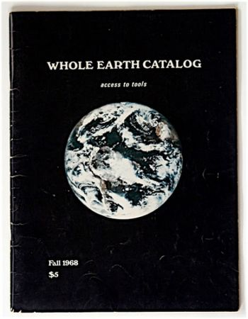 Stewart Brand Whole Earth Catalog 1968