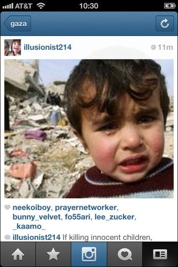 Instagram War Gaza 02
