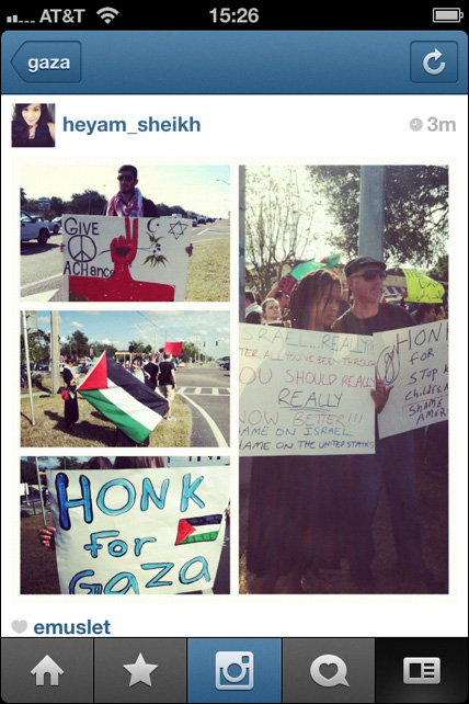 Instagram War Gaza 12