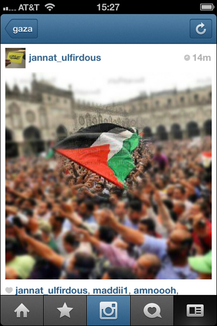 Instagram War Gaza