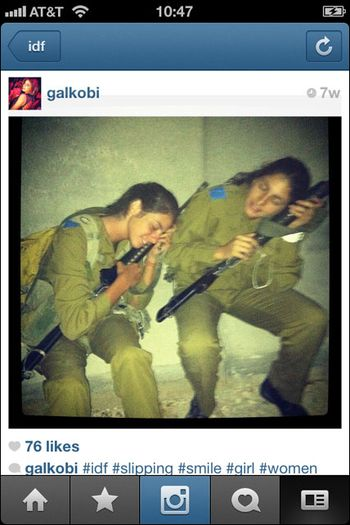 Instagram War Israel 12