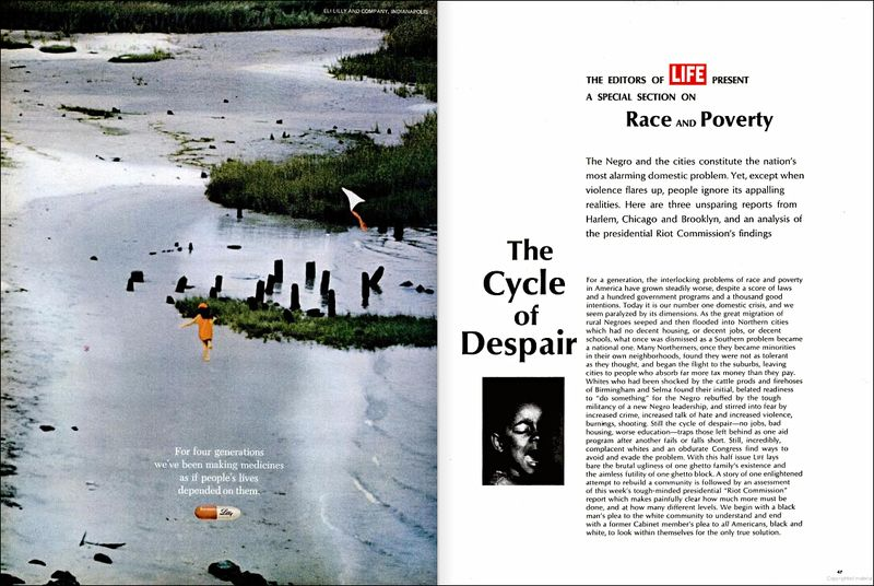 Life Magazine Race and Poverty March 1968