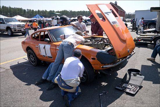 ChumpCar VIR 03 13 Mason Ruke Boy Racing