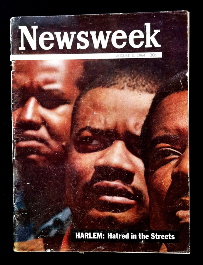 Roy DeCarava Kamoinge Newsweek Cover 3 August 64 sml