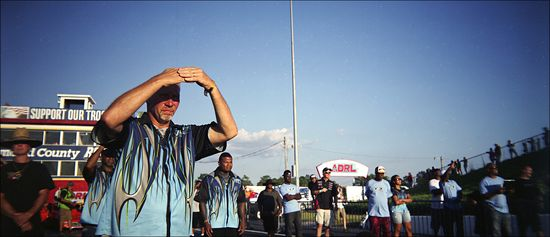 Mason ADRL Dragstock X Staging Lanes 02 Holga Panoramic
