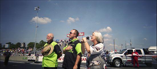 Mason ADRL Dragstock X National Anthem Kenny 01-2 Holga Panoramic