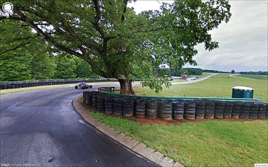 Oak Tree Turn VIR Virginia International Raceway small