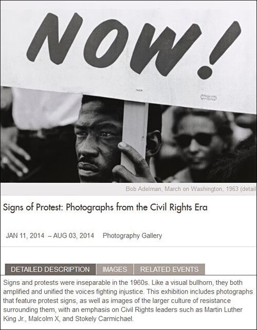 Signs of Protest VMFA
