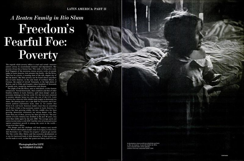 Gordon Parks Flavio Life Magazine 16 June 1961 01
