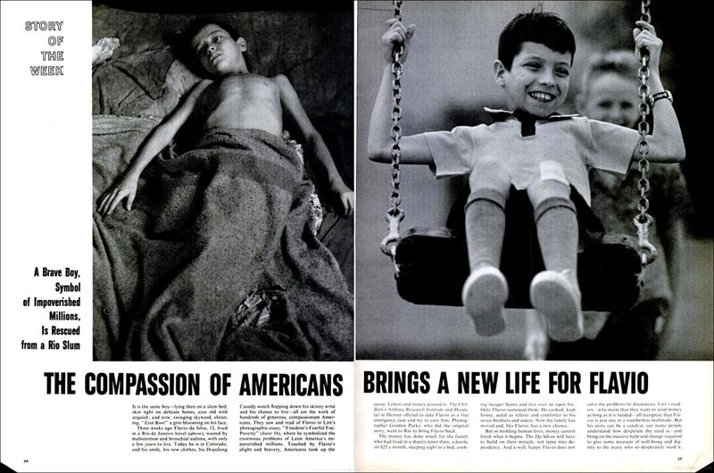 Gordon Parks Flavio in America Life Magazine 21 July 1961 01