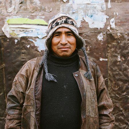Paccarik Orue Hombre con Chuyo El Muqui series 2013