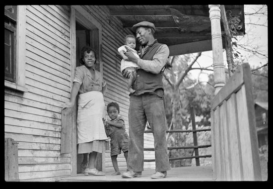 Marion Post Wolcott Coal miner his wife and two of their children Bertha Hill West Virginia 1938-13