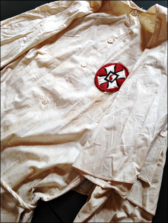 Ku Klux Klan KKK Robe Charlottesville Albemarle Historical Society Virginia sml