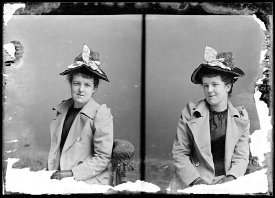 CM Bell Unidentified Woman Kisser 1873 1916 LOC
