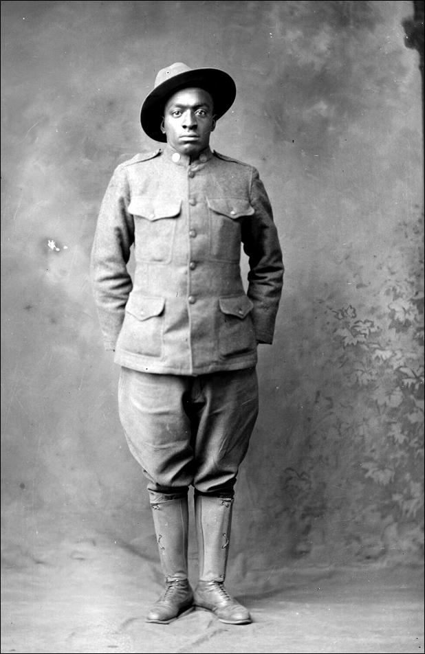 Holsinger Af Am Soldier Fayett Johnson 1919