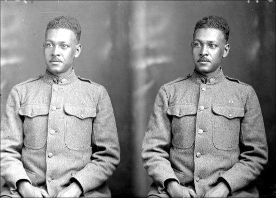 Holsinger Af Am Soldier Emmet T Whitney 1919