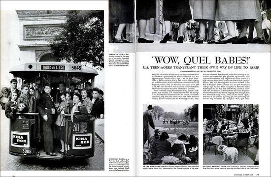 Gordon Parks Life Teenagers Paris 1952 01