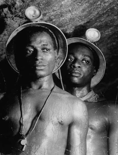 Bourke White South Africa Miners