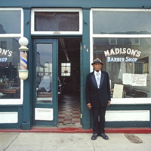 John Pinderhughes Charles Madison 1982 from the series Older Black Americans