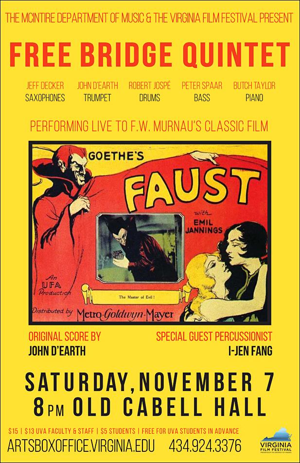 UVA Free Bridge Faust Poster sml