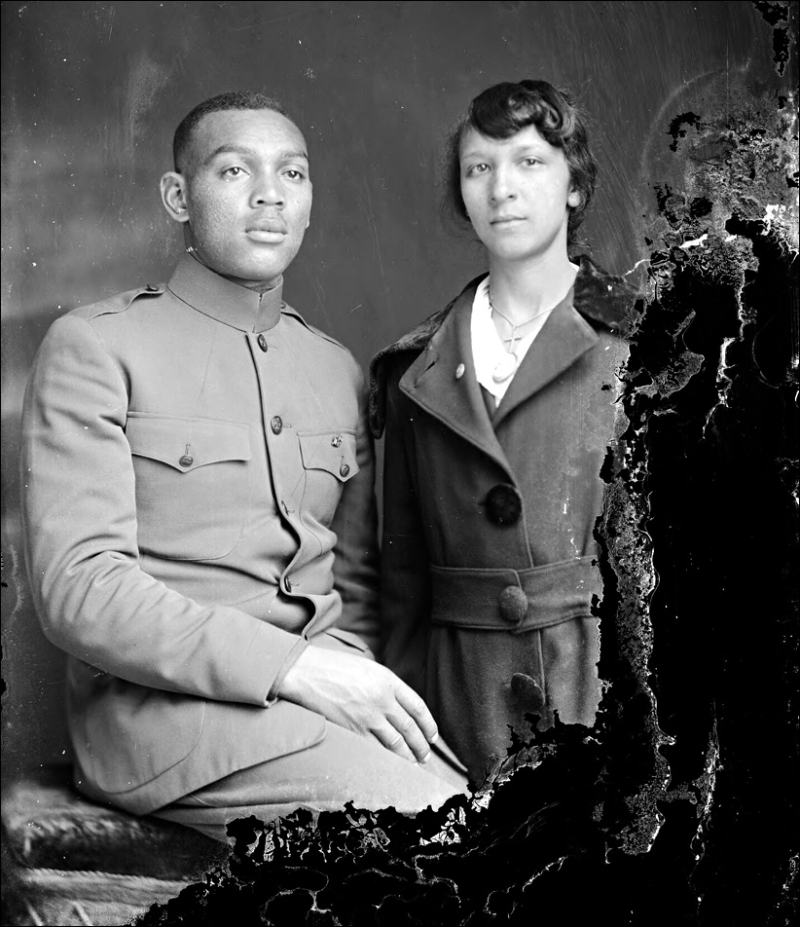 Holsinger Af Am Soldier J S White 1919