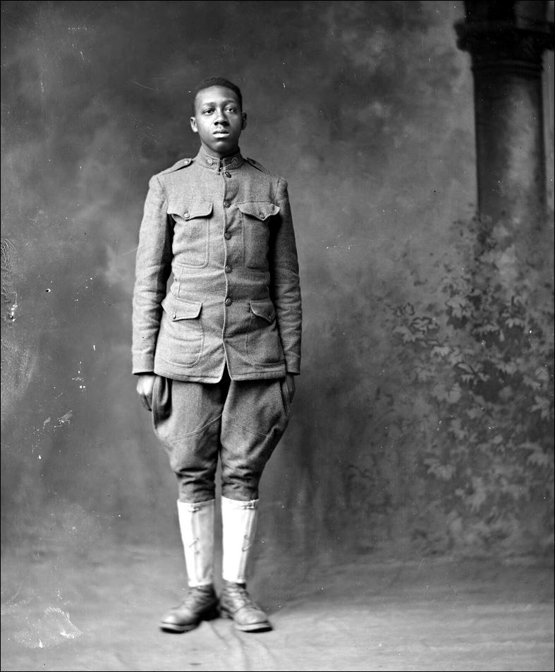 Holsinger Af Am Soldier Burnett Watson 1919